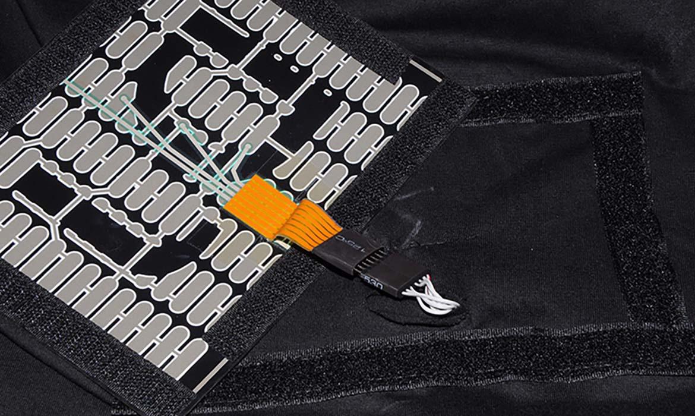 Circuit imprimé tee Shirt Logo lumineux Publicitaire